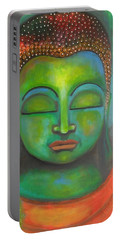 The Green Buddha Portable Battery Charger by Prerna Poojara