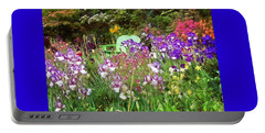 Hiding In The Garden Portable Battery Charger by Thom Zehrfeld