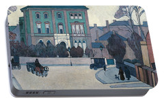 The Green House, St John's Wood Portable Battery Charger by Robert Bevan