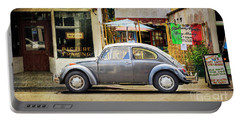 The Grey Beetle Portable Battery Charger by Craig J Satterlee