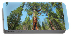 Portable Battery Charger featuring the photograph The Grizzly Giant- by JD Mims