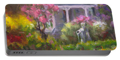The Guardian - Plein Air Lilac Garden Portable Battery Charger
