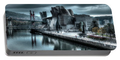 The Guggenheim Museum Bilbao Surreal Portable Battery Charger