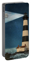 Portable Battery Charger featuring the photograph The Guiding Light by Juli Scalzi