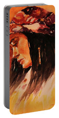 Gypsy Girl Portable Battery Charger