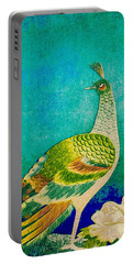 The Handsome Peacock - Kimono Series Portable Battery Charger