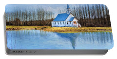 The Heart Of It All - Landscape Art Portable Battery Charger