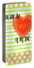 The Heart Of My Soul Portable Battery Charger
