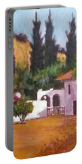 The Hidden Villa Portable Battery Charger by Jim Phillips