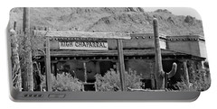 The High Chaparral Set With Sign Old Tucson Arizona 1969-2016 Portable Battery Charger