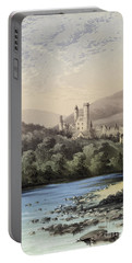 The Highland Home, Balmoral Castle Portable Battery Charger by English School