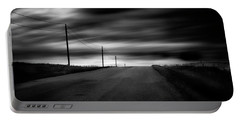 Portable Battery Charger featuring the photograph The Highway by Dan Jurak