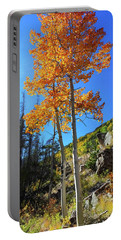 Portable Battery Charger featuring the photograph The Hillside - Panorama by Shane Bechler