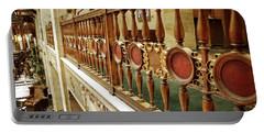 The Historic Davenport Hotel Balcony Railings Portable Battery Charger
