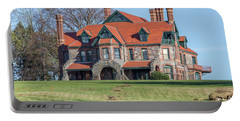 The Historic Eustis Estate In Milton Massachusetts Portable Battery Charger