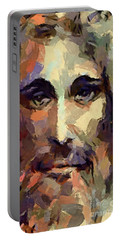 The Holy Face Of Jesus  Portable Battery Charger