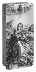The Holy Family With The Mayfly Portable Battery Charger