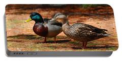 The Honeymooners - Mallard Ducks  Portable Battery Charger