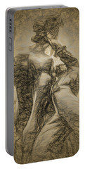 Portable Battery Charger featuring the photograph The Horse Tamer by Paul Wear