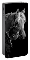 The Horse Whisperer Extraordinaire Portable Battery Charger