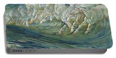 The Horses Of Neptune Portable Battery Charger