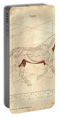 The Horse's Trot Revealed Portable Battery Charger by Catherine Twomey