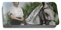 The Horsewoman  Portable Battery Charger