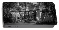 Portable Battery Charger featuring the photograph The House At Beech Court Gardens by Ryan Photography