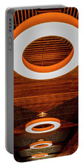 Portable Battery Charger featuring the photograph The House Of O by Paul Wear