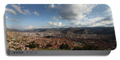 Portable Battery Charger featuring the photograph The Inca Capital Of Cusco by Aidan Moran
