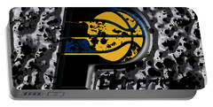 The Indiana Pacers Portable Battery Charger by Brian Reaves