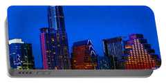 The #instaawesome #austin #skyline On A Portable Battery Charger