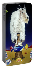 The Intoxicated Mountain Goat Portable Battery Charger