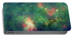 Portable Battery Charger featuring the photograph The Invisible Dragon by NASA JPL-Caltech