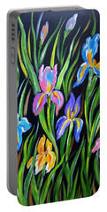 The Irises Portable Battery Charger