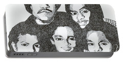 The Jacksons Tribute Portable Battery Charger