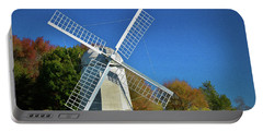 The Jamestown Windmill Portable Battery Charger