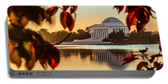 Jefferson In Autumn Portable Battery Charger