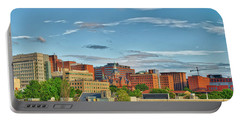 Portable Battery Charger featuring the photograph The Johns Hopkins Hospital Complex by Mark Dodd