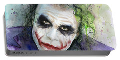 The Joker Watercolor Portable Battery Charger