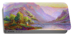 The Joy Of Being Buddha Meditation Portable Battery Charger