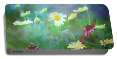 The Joy Of Summer Flowers Portable Battery Charger