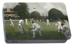 The Kent Eleven Champions, 1906 Portable Battery Charger by Albert Chevallier Tayler