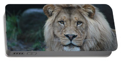 Portable Battery Charger featuring the photograph The King by Laddie Halupa
