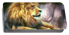 The King Of Cool Portable Battery Charger by Tina LeCour