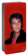 The King Rocks On L Portable Battery Charger