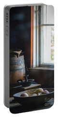 Portable Battery Charger featuring the photograph The Kitchen Window by Mitch Shindelbower