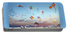The Kite Festival Ocean City Md Portable Battery Charger