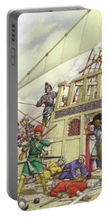 The Knights Of St John Seized Turkey's Finest Galleon, The Sultana Portable Battery Charger