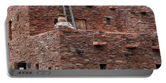 Portable Battery Charger featuring the photograph The Ladders Of The Hopi House by Kirt Tisdale